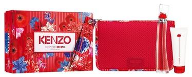 Sieviešu smaržu komplekts Kenzo Flower By Kenzo 3pcs Set 125 ml EDP