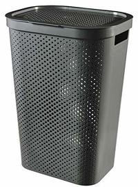 Curver Terrazzo Laundry Basket 55l Black