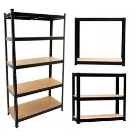 Полка Top E Shop Tool Storage Rack P9030, черный, 30x90x180 см