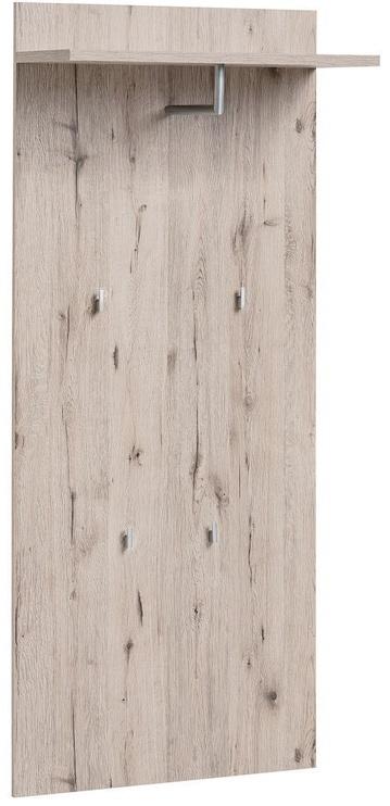 ASM Gustavo III Wardrobe Wellington Oak/Gloss White