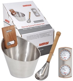 Harvia Inox Sauna Steel Set