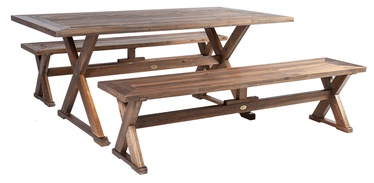 Home4you Farmer Garden Furniture Set 3pcs
