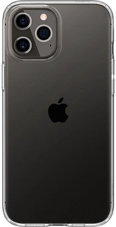 Spigen Liquid Crystal Back Case For Apple iPhone 12/12 Pro Transparent