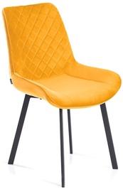 Ēdamistabas krēsls Homede, dzeltena
