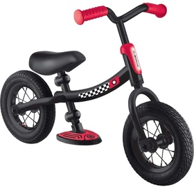 Балансирующий велосипед Globber Go Bike Air, черный/красный, 10″