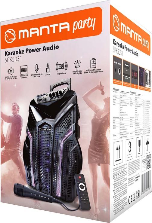 Manta SPK5031 Power Audio Bluetooth Speaker