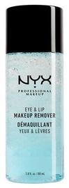 Средство для снятия макияжа NYX Eye & Lip Makeup Remover, 80 мл