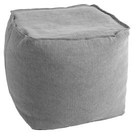 Pufs Home4you Jute Grey, 55x55x45 cm