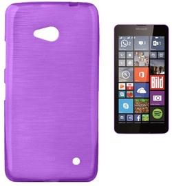 Forcell Jelly Brush Back Case For Microsoft 640 Lumia Violet