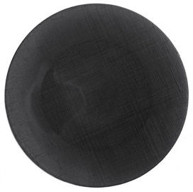 Dekor Cam Serving Plate D32cm Grey