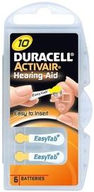 Duracell Activair A10-6BB Hearing Aid Batteries 6x