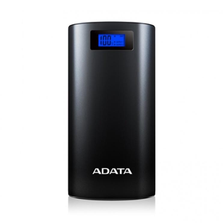 Ārējs akumulators ADATA AP20000D Black, 20000 mAh