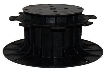 SN Adjustable Pedestal 80-140mm Black 12pcs