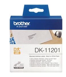 Наклейки Brother DK11201, 400 шт.