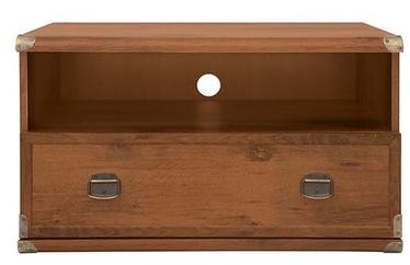ТВ стол Black Red White Indiana, коричневый, 800x520x475 мм