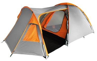 3-местная палатка O.E.Camp RD-T23-3, oранжевый/серый