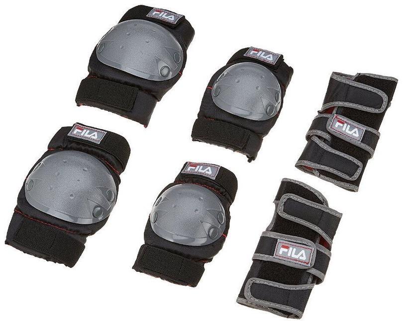 Ролики Fila J-One Combo, черный/красный, 32-36