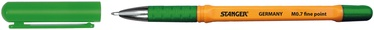 Stanger Ball Point Fine Point Softgrip 0.7 50pcs Green