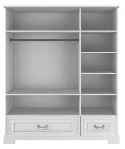 Skapis Bellamy Ines Grey, 151x51x180 cm
