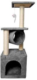 Когтеточка для кошек 90 см. Серая
