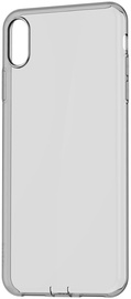 Baseus Simplicity Dust Plug Case For Apple iPhone XS Max Transparent/Black