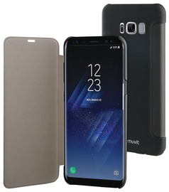 Muvit Folio Touch Case For Samsung Galaxy S8 Plus Black