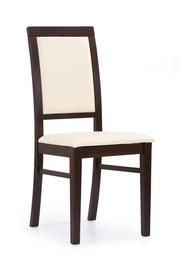 Ēdamistabas krēsls Halmar Sylwek 1 Dark Walnut Beige