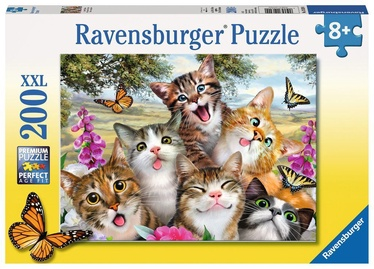 Ravensburger XXL Puzzle Friendly Felines 200pcs 12620