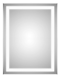 Spogulis Masterjero Novito YJ-2268H, ar gaismu, stiprināms, 60x80 cm