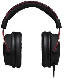 Игровые наушники Kingston Alpha Pro, черный/красный