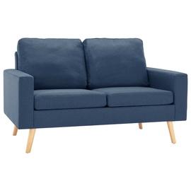 Dīvāns VLX 2-Seated 288707, zila, 76 x 130 x 82.5 cm