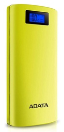 Ārējs akumulators ADATA P20000D Yellow, 20000 mAh