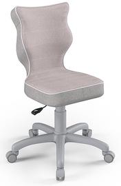 Bērnu krēsls Entelo Petit CR08, rozā/pelēka, 300 mm x 775 mm