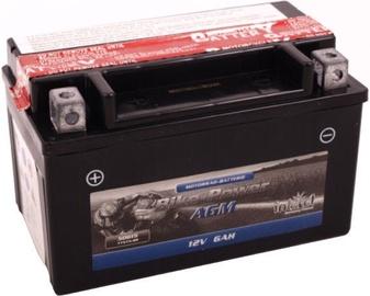 Akumulators IntAct AGM YTX7A-BS, 12 V, 6 Ah