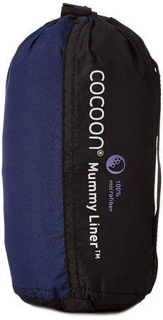 Cocoon Mummy Liner Microfiber Blue