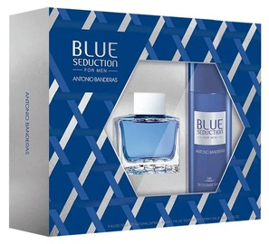 Komplekts vīriešiem Antonio Banderas Blue Seduction 2pcs Set 200 ml EDT