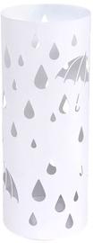 Подставка для зонтов Songmics Round Rain, белый, 195x195x490 мм