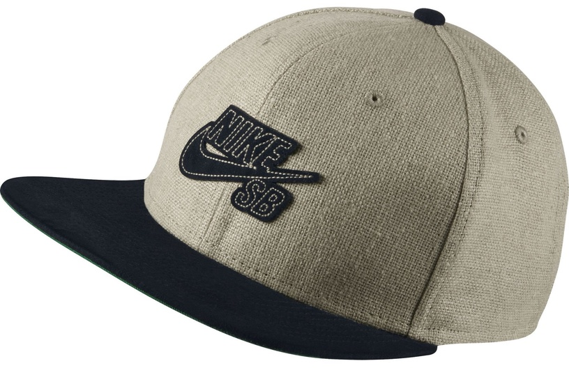 Cepure Nike Hat SB Raw Canvas Pro 821606-239 Unisex Brown