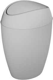 Мусорное ведро Umbra Twirla 1012978, серый, 9 л