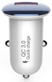 Devia Mushroom Series USB Car Charger Blue