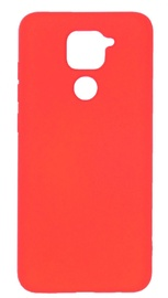 Evelatus Soft Touch Back Case For Xiaomi Redmi Note 9 Red