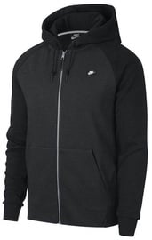 Nike Mens Full Zip Optic Hoodie 928475 010 Black 2XL