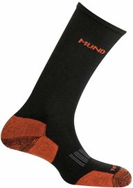 Zeķes Mund Socks Cross Country Skiing Black/Orange, 46-49, 1 gab.