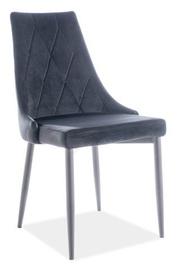 Ēdamistabas krēsls Signal Meble, melna