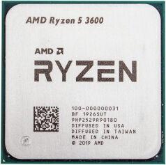 Процессор AMD Ryzen 5 3600 3.6GHz 32MB TRAY 100-000000031, 3.6ГГц, AM4, 32МБ
