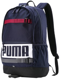 Puma Deck Backpack 074706 24 Navy Blue