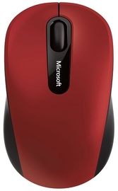 Datorpele Microsoft 3600 Red, bezvadu, optiskā