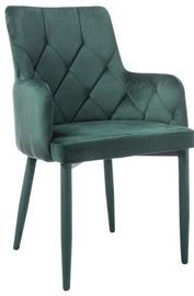 Ēdamistabas krēsls Signal Meble Ricardo Velvet Green