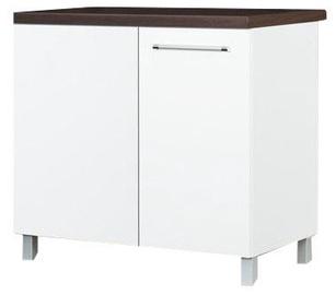 Bodzio Laora Bottom Corner Cabinet Left White