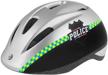 Force Fun Police 2019 Helmet Black/White M